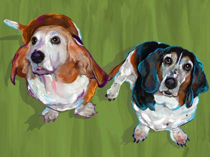 Basset Hound Art and Gifts